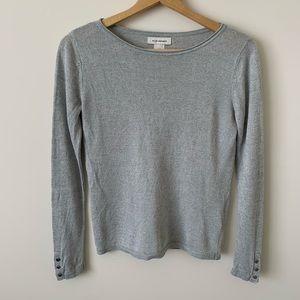 Club Monaco Gray Pullover Sweater
